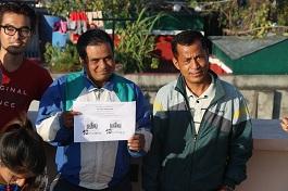 RJ Jonathan Giri & Ram Maharjan & Technician Raaj Bhujel